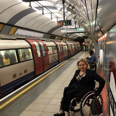 Tracey Proudlock on the Underground
