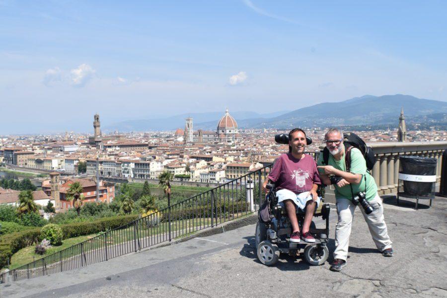 5.13 One Of Many Beautiful People We Met On The Road. Here Is Media Guru Stefano